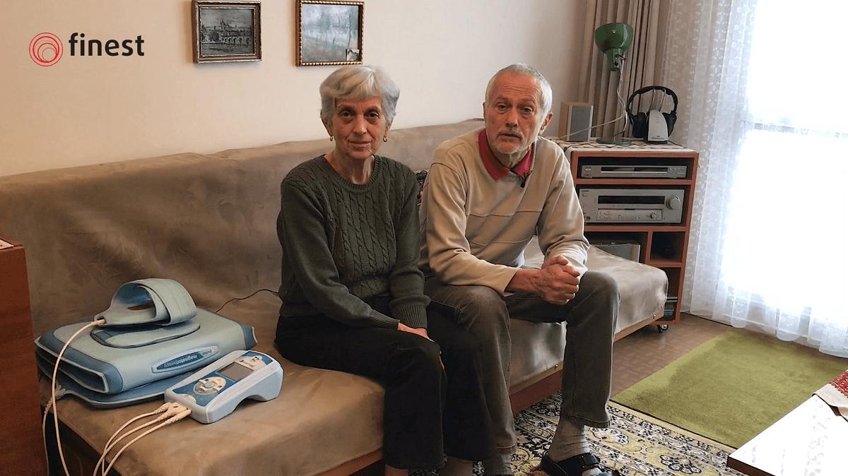 Manželia Krmličkoví aprístroj Biomag